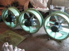 Axial Flow Fresh Air Fans