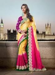 Designer's sari
