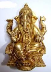 Brass Metal Ganesh