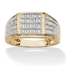 Mens designer diamond rings