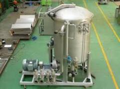 Cheese dyeing machine