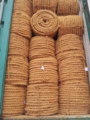Machine twisted coir fiber for mattress,FMT,coir