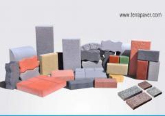 High Density Shot Blasted Paver Blocks