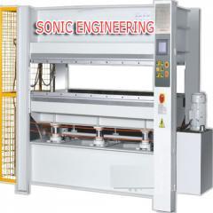 Hot plywood press machine