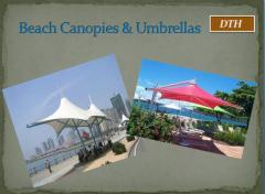 Beach Canopies & umbrellas