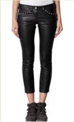 Motorbike Leather Pants