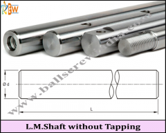 Linear Motion Shaft Without Tapping