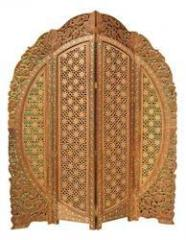 Carved Screen Partition