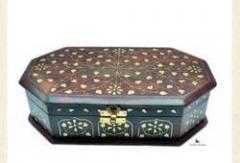 Octagonal Wooden Box