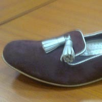 Ladies Leather Bally Shoes
