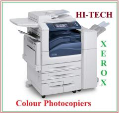 Xerox Colour Photocopier machine work center 7345