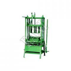 Manual Hollow & Solid Block Making Machines
