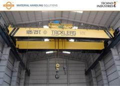 Double Girder Overhead Bridge Cranes with Hoists