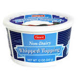 Non Dairy Whip Topping