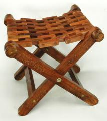 Wooden Folding Stool
