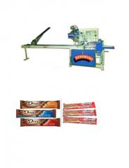 Chocolates Bar Wrapping Machine