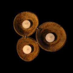 Coconut Candle Stands
