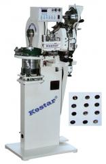 Automatic rivet attaching machine