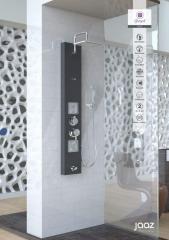 Shower Panel Jaaz Pearl Black