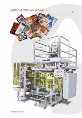AKASH Patented :- Multi Track Packaging Machines