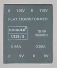 Flat Series Encapsulated Transformer