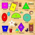 Geometric Shape Board