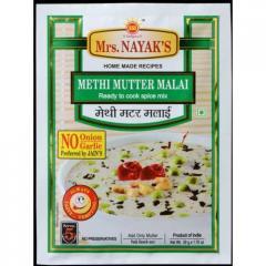 Methi Mutter Malai