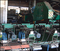 Traveling Type Hot Saw