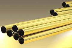 Seamless Brass Pipes