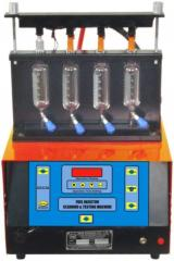 PETROL INJECTOR CLEANING & TESTING MACHINE