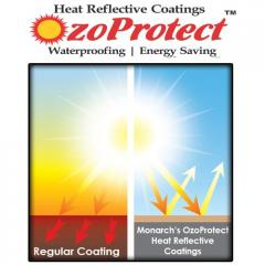 Heat / Solar Reflective Coatings for Walls and