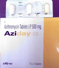 Azithromycine 500 tablets