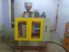 1 Liter Auto Deflashing Blow Moulding Machine