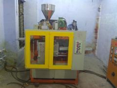 1 Liter Auto Deflashing Blow Moulding Machine