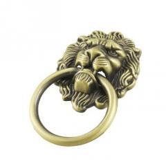 Lion Face C D Knob