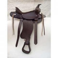 Embossed Western Saddle