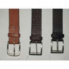 Leather Plain Belts
