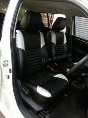 Car seat cover for MARUTI SWIFT customized by Team FF car accessories chennai