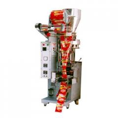 FFS POUCH PACKING MACHINE WITH CENTER SEALING