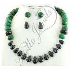 Sapphire Drop Necklace