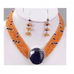 Natural Blue Sapphire Necklace