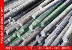 Mild Steel Thread Rods