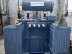 Electrical Transformer with Oil Cooled