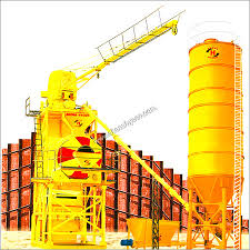 Drum Type Concrete Mixing Plant
