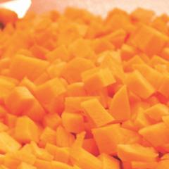Diced English Carrot