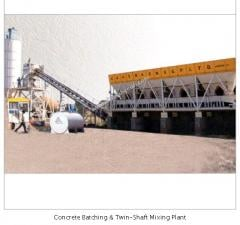 Concrete Batching & Twin-Shaft Mixing