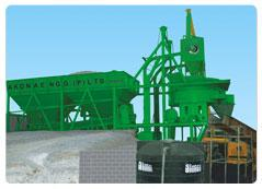 Concrete Batching & Mixing Plant INLINE