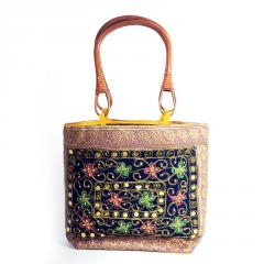 Meherma Creation's Embroidered bag with