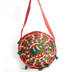 Meherma Creation's ROUND SHAPED RED SLING