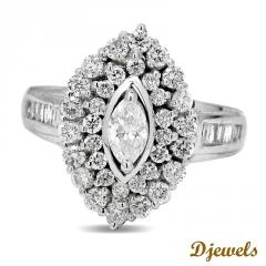 Trini Solitaire Ring